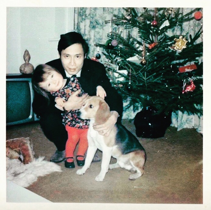 me and my dad in 1970